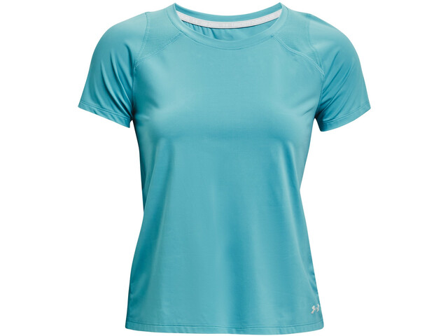 Under Armour Isochill Run 200 Short Sleeve Shirt Women cosmos-cosmos